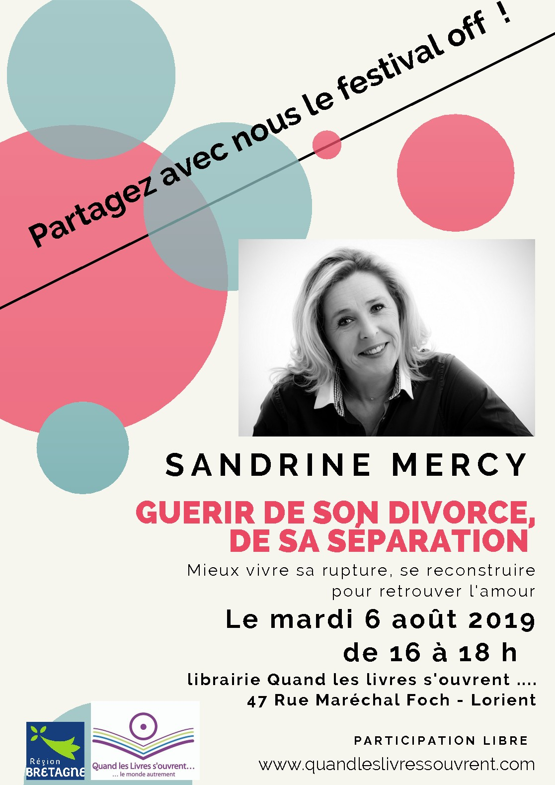 RENCONTRE...GUERIR DE SON DIVORCE, DE SA SEPARATION